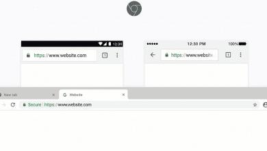 صورة جوجل لم تلغي www على كروم حتى الآن