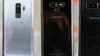 صورة برنامج Android Pie الثابت يكشف عن أربعة طرازات من سامسونج جالكسي S10