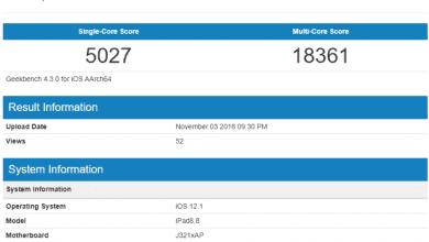 صورة نتائج إختبارات آيباد برو 2018 تؤكد على ان أجهزة آيباد أسرع من الحواسب المحمولة