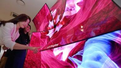 صورة LG تُعلن عن شاشة 88 بوصة 8K OLED مع نظام صوتي مدمج #CES2019