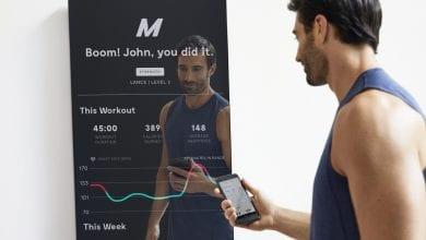صورة Putnam تطلق مرآة ذكية لتجلب لك دروس اللياقة البدنية مباشرة إلى منزلك