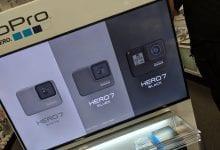 صورة تسريب كاميرا GoPro Hero 7 عبر شاشة متجر تجزئة