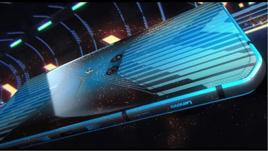 Photo of أول الصور المسربة التي تستعرض تصميم هاتف لينوفو المخصص للألعاب Legion