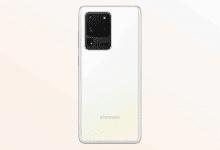 صورة الآن هاتف GALAXY S20 ULTRA يتوفر في السوق الأوروبي باللون الأبيض