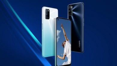 صورة الإعلان رسميًا عن الهاتف Oppo A92 مع تصميم ومواصفات تقنية مألوفة