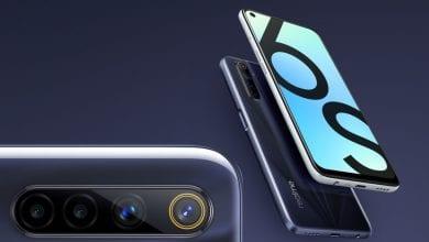 صورة الإعلان رسميًا عن الهاتف Realme 6s مع شاشة بحجم 6.5 إنش، وأربع كاميرات في الخلف