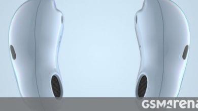 صورة سماعات Samsung Galaxy Buds X القادمة بخاصية إلغاء الضوضاء