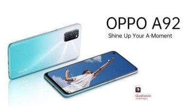 صورة الكشف عن سعر ومواصفات الهاتف Oppo A92 قبيل الإعلان الرسمي