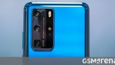صورة تتلقى مجموعة Huawei P40 تحديثًا لضبط الكاميرا