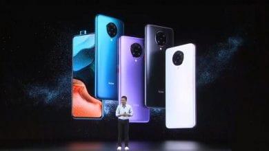 صورة تسريب ألوان وسعر الهاتف Poco F2 Pro، وسيكلف نحو 570 يورو