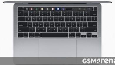 صورة تقوم Apple بتحديث MacBook Pro 13 بمفاتيح مقص وتضاعف مساحة التخزين