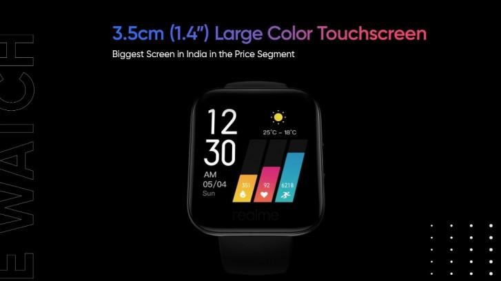 تم الكشف عن تصميم Realme Watch وميزاته: شاشة ملونة تعمل باللمس ، وأشرطة ملونة ، ومراقبة معدل ضربات القلب