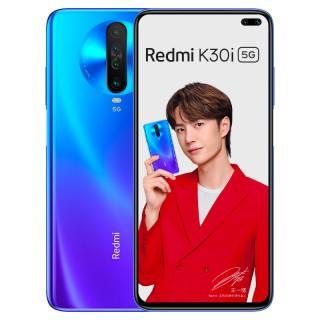 Redmi K30i 5G باللون الأزرق والأبيض