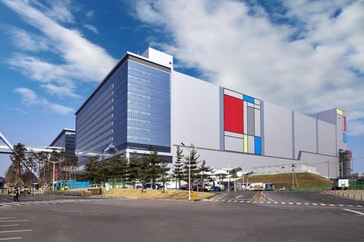 مصنع سامسونج في Hwaseong ، كوريا الجنوبية