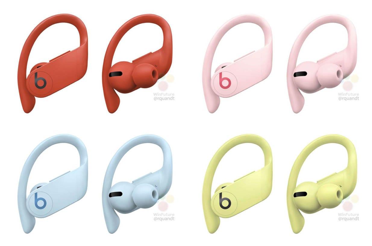 ستحصل سماعات Powerbeats Pro على أربعة خيارات ألوان جديدة ، أكثر ملاءمة للصيف