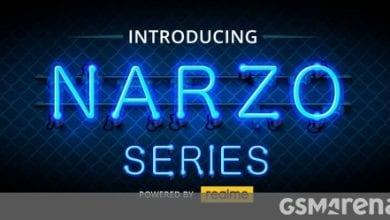 صورة شاهد حدث إطلاق سلسلة Realme Narzo 10 هنا