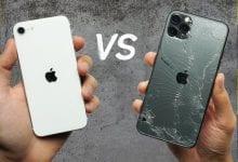 صورة شاهد كيف إستطاع iPhone SE 2020 الجديد التفوق على iPhone 11 Pro في إختبارات السقوط
