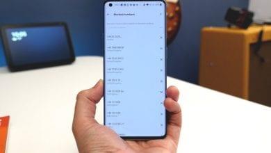 صورة كيفية حظر رقم على Android