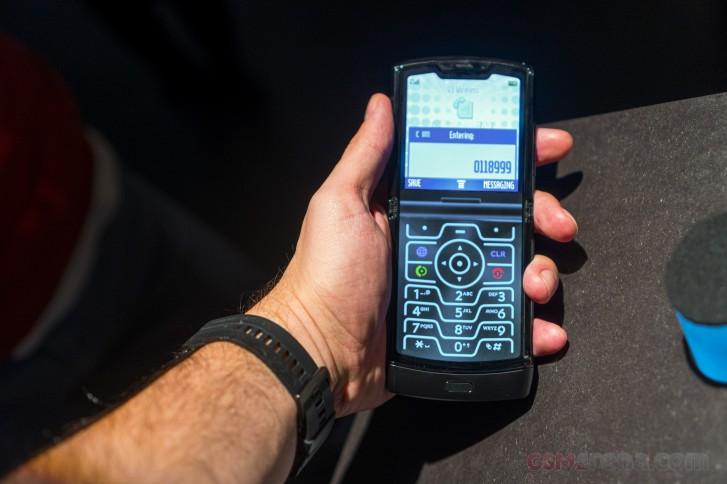 لعبة Motorola Razr 2 القابلة للطي ستحسن لعبة الأجهزة مقارنة بسابقها