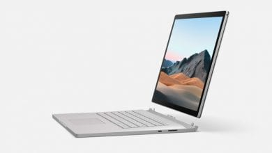 صورة مايكروسوفت تزيح الستار رسميًا عن حاسوبها المحمول الهجين Surface Book 3