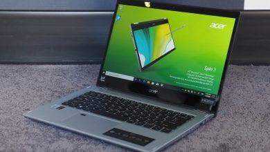 صورة مراجعة أولية لـ Acer Spin 3 (2020): متعددة الاستخدامات دون تكلف ثروة