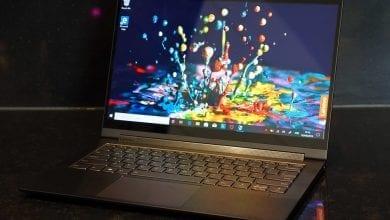 صورة مراجعة Lenovo Yoga C940 الأولية بقياس 14 بوصة: قوة وسائط متعددة