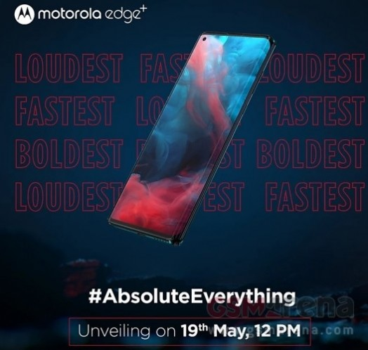 موتورولا إيدج + تهبط في الهند يوم 19 مايو