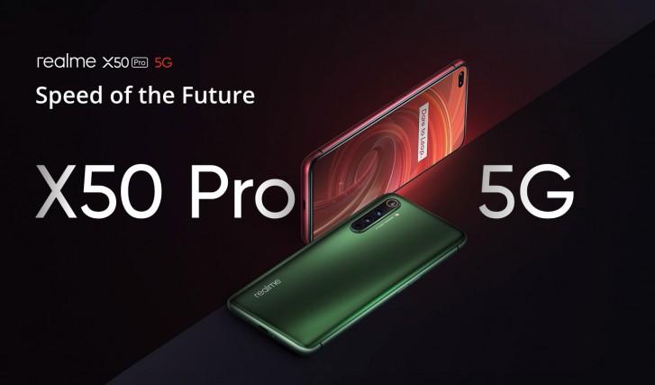 يأتي Realme X50 Pro 5G و 6 Pro و 5i إلى أوروبا