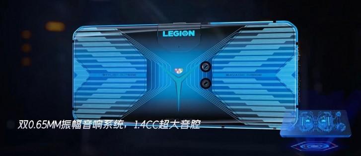 تسريب هاتف Lenovo Legion للألعاب بتصميم جذري