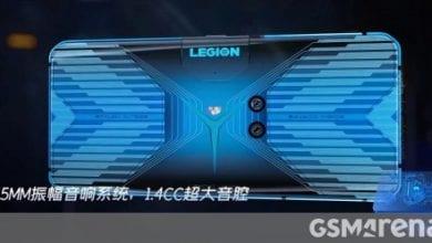 صورة تسريب هاتف Lenovo Legion للألعاب بتصميم جذري