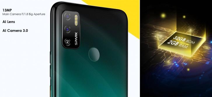 Tecno Spark 5 Air هو جهاز لوحي مقاس 7 بوصات مع إصدار Android 10 Go