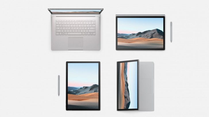 أعلنت Microsoft عن Surface Book 3 و Surface Go 2 و Surface Headphones 2