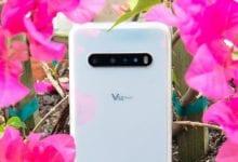 صورة مراجعة LG V60 ThinQ 5G
