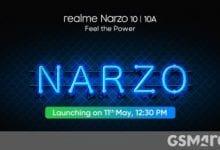 صورة تم إطلاق سلسلة Realme Narzo 10 في 11 مايو