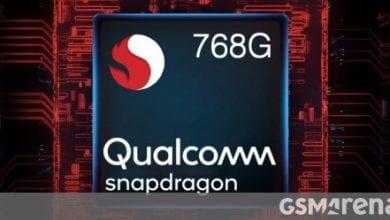 صورة يصل Qualcomm Snapdragon 768G مع وحدة معالجة مركزية (CPU) و GPU ، ومودم 5G مدمج