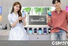 صورة تم الإعلان عن Samsung Galaxy A Quantum بتقنية تشفير الكم