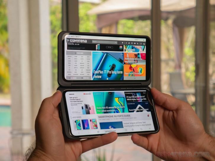 صفقة: احصل على LG V60 ThinQ مع شاشة مزدوجة على Verizon مقابل 550 دولارًا فقط