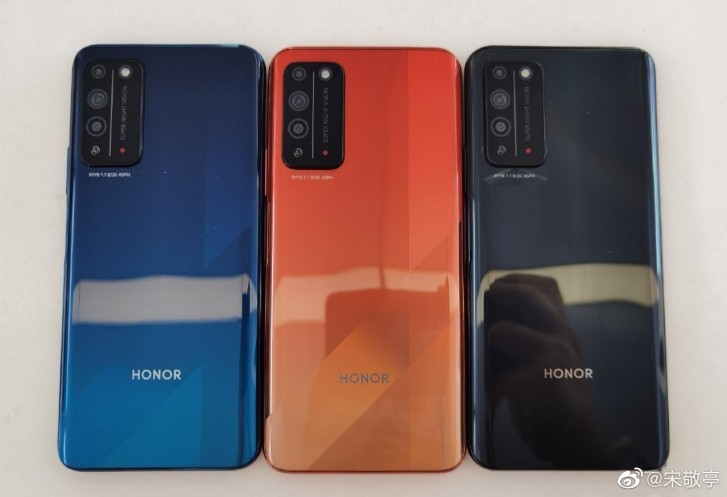 سطح صورة حية لـ Honor X10 قبل الإطلاق