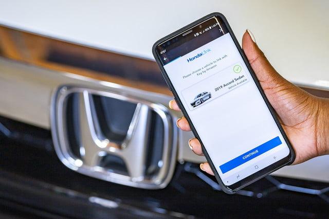 مفتاح أمازون في سيارات هوندا