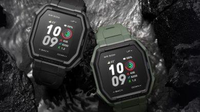 صورة الإعلان عن الساعة الذكية Amazfit Ares بتصميم متين وعمر بطارية يصل إلى أسبوعين