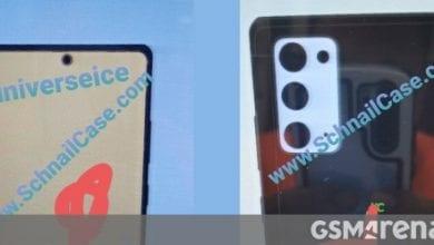 صورة تم الكشف عن تصميم Samsung Galaxy Note20 من خلال الرسومات