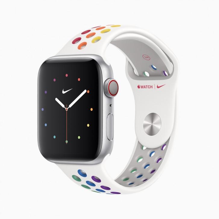 أطلقت Apple شريطين جديدين Pride Edition لساعة Apple Watch