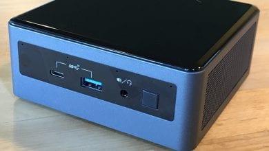 Photo of مراجعة : الحاسوب المكتبي Intel Frost Canyon NUC 10i7FNHAA