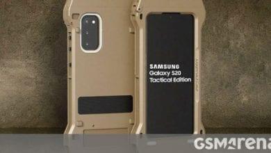صورة سامسونج تعلن عن الإصدار التكتيكي Galaxy S20