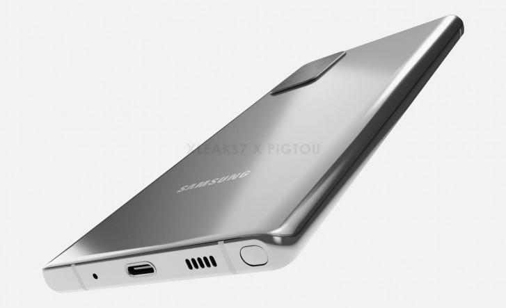 يُزعم أن Samsung Galaxy Note 20 يُزعم أن CAD تتسرب مع إعداد كاميرا Galaxy S20 Ultra