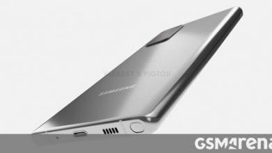 صورة يُزعم أن Samsung Galaxy Note 20 يزعم أن CAD تتسرب مع إعداد كاميرا Galaxy S20 Ultra