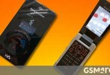 صورة نموذج Sony Ericsson W707 لم يتم طرحه مع أسطح عرض زر فريدة
