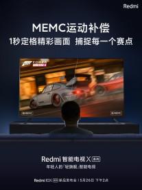 المثيرات Redmi X TV