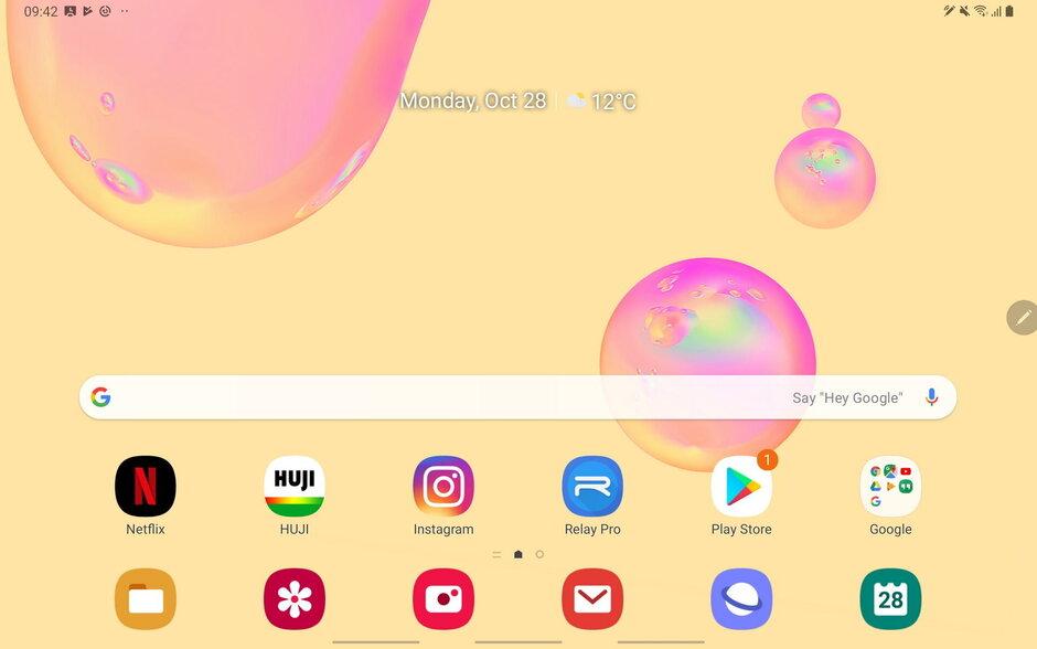 Samsung One UI - Samsung Galaxy Tab S6 مراجعة