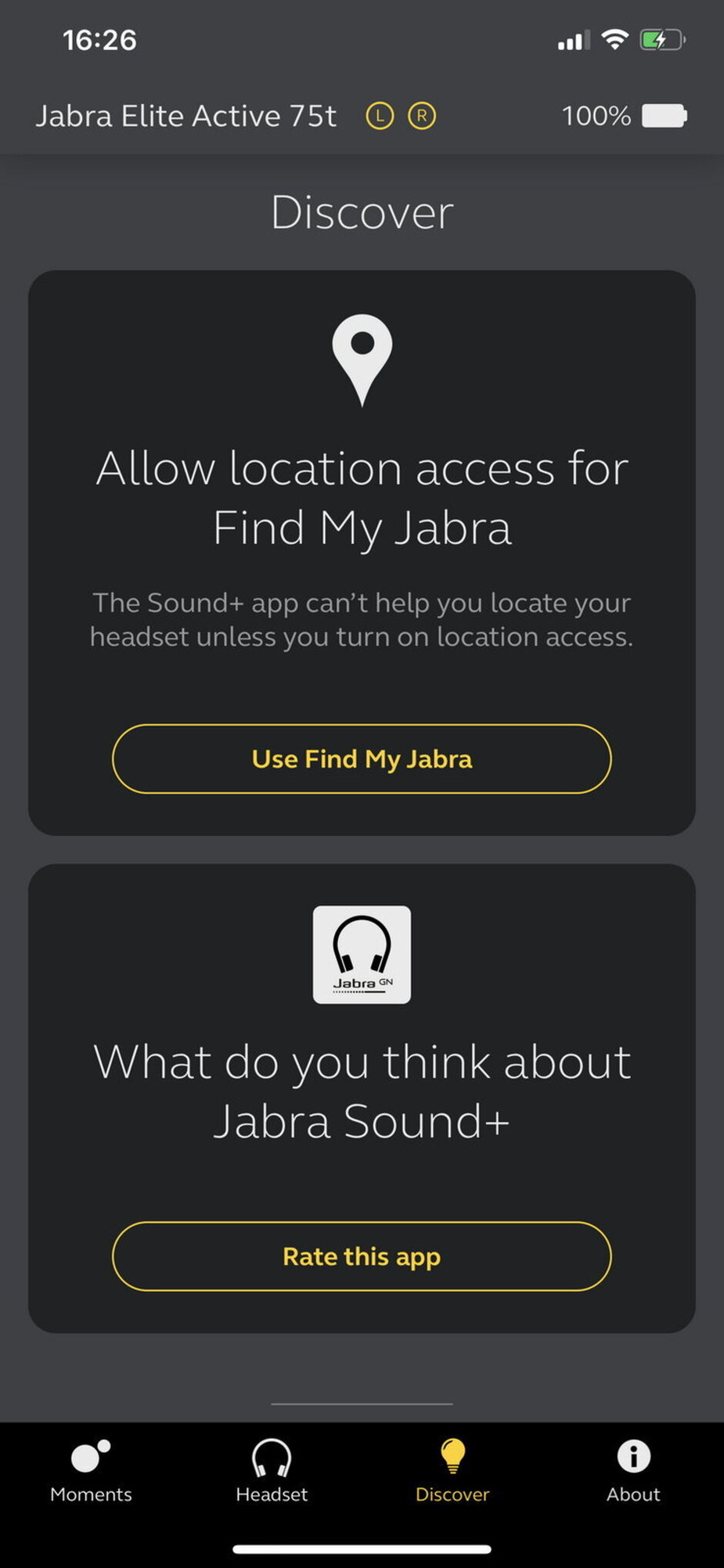 تطبيق Jabra Sound + - مراجعة Jabra Elite Active 75t